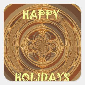 Happy Holidays Seamless Hakuna Matata Seasonal Gif Square Sticker