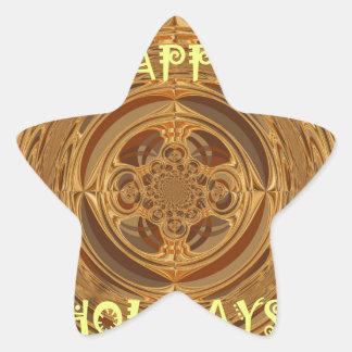 Happy Holidays Seamless Hakuna Matata Seasonal Gif Star Sticker