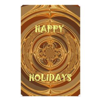 Happy Holidays Seamless Hakuna Matata Seasonal Gif Stationery