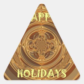 Happy Holidays Seamless Hakuna Matata Seasonal Gif Triangle Sticker
