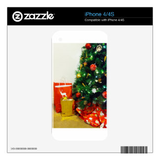 HAPPY HOLIDAYS DECAL FOR THE iPhone 4S