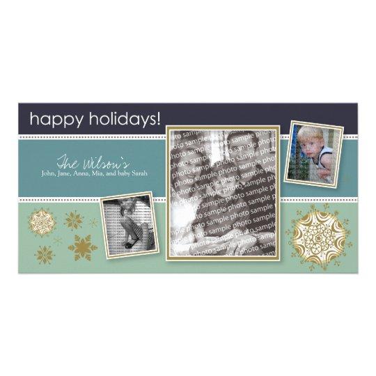 Happy Holidays Snowflake Sweet 3-Photo :: 05 Card