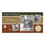 Happy Holidays Snowflake Sweet 3-Photo :: 07 Photo Card