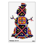 Happy Holidays Snowman Christmas Wall Decals