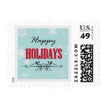 Happy Holidays Stamp