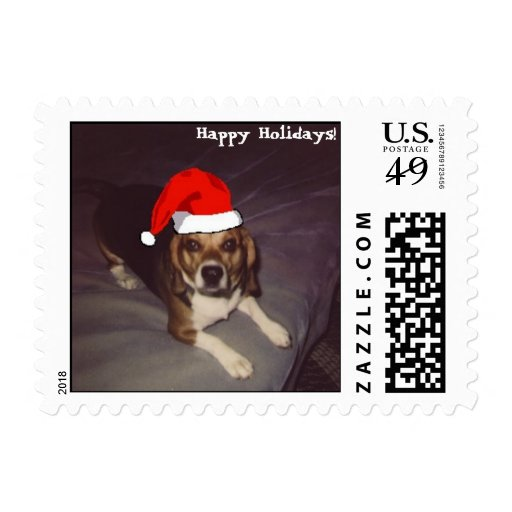 Happy Holidays! Stamp