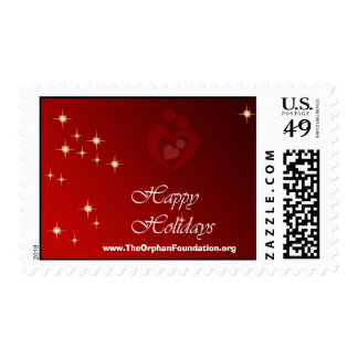 Happy Holidays Stamp
