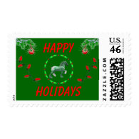 HAPPY HOLIDAYS STAMPS