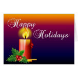 Happy Holidays Stationery Note Card