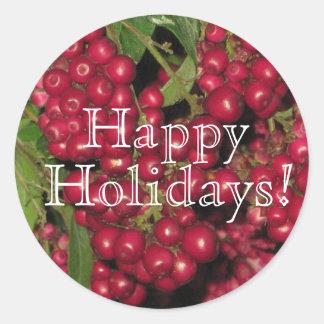 Happy Holidays Sticker