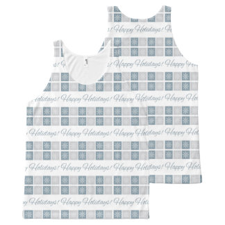 Happy Holidays tank top All-Over Print Tank Top