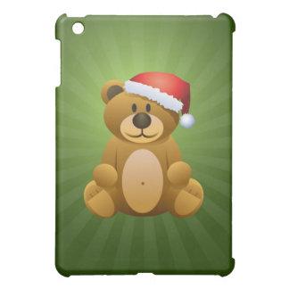Happy Holidays Teddy Bear Cover For The iPad Mini