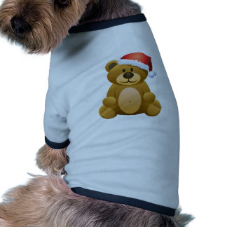 Happy Holidays Teddy Bear Doggie Tee