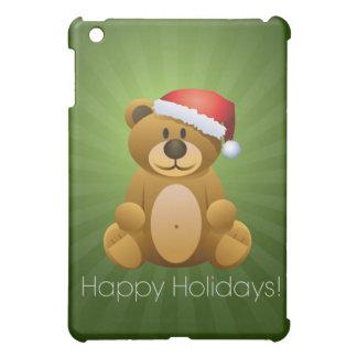 Happy Holidays Teddy Bear iPad Mini Case
