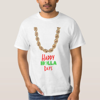 Happy holidays tee shirts