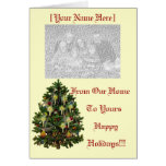 Happy Holidays Template Greeting Card