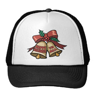 Happy Holidays To All Trucker Hat