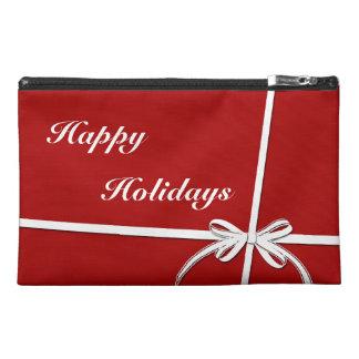 Happy Holidays Travel Accessory Bag