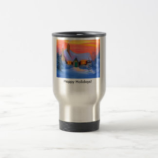 Happy Holidays! Travel Mug