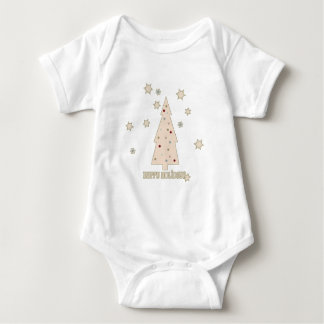 Happy Holidays Tree Baby Bodysuit