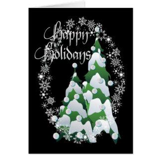 HAPPY HOLIDAYS TREE by SHARON SHARPE Card