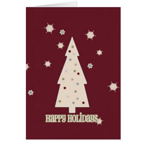 Happy Holidays Tree Cards