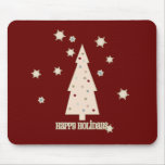 Happy Holidays Tree Mouse Mat
