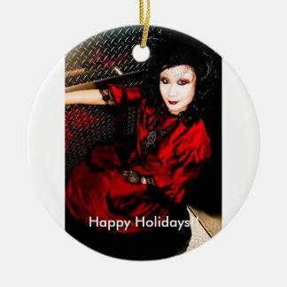 Happy Holidays Tree Ornament