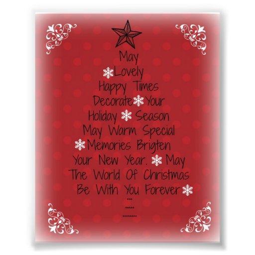 Happy Holidays Tree! Photo Print