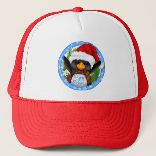 Happy Holidays Trucker Hat