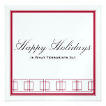 Happy Holidays vs. Merry Christmas Card Announcements