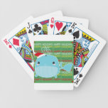 Happy Holidays Whale Bicycle Card Decks