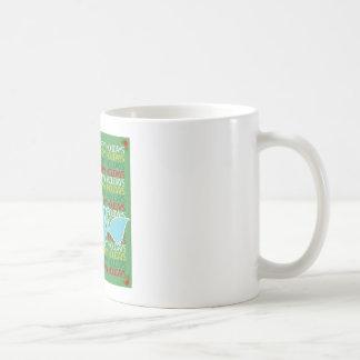 Happy Holidays Whale Mug