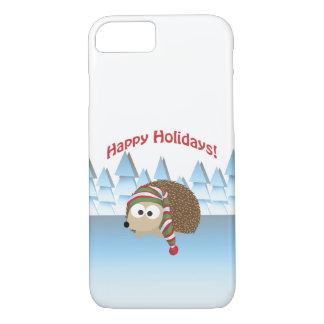 Happy Holidays! Winter Hedgehog iPhone 8/7 Case