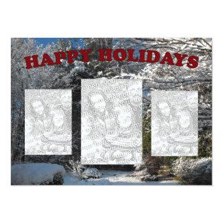 Happy Holidays - Winter Wonderland Card