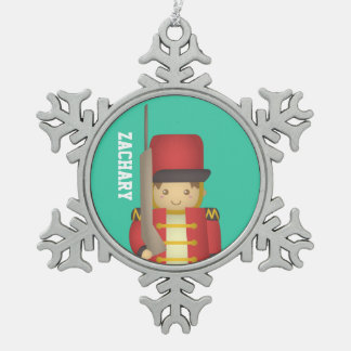Happy Holidays with Christmas Toy Soldier Ornaments