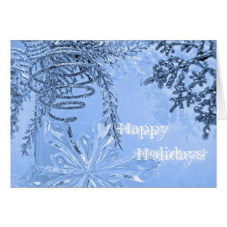 HAPPY HOLIDAYS WOODBURN CARD