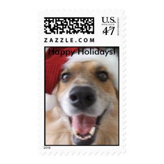 Happy Holidays Zeeah stamp! Postage