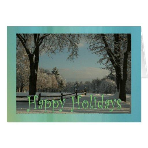 happy holidayszazzle greeting card