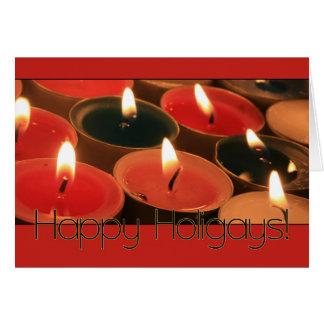 Happy Holigays Christmas Card