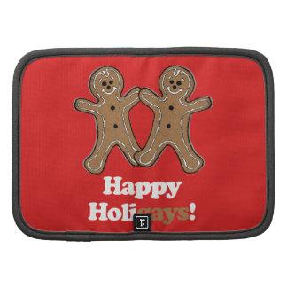 HAPPY HOLIGAYS (Gingerbread) Folio Planners