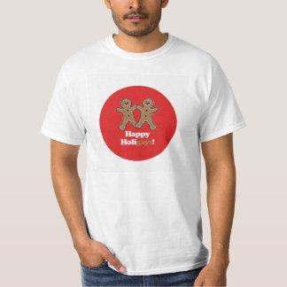 HAPPY HOLIGAYS (Gingerbread) T-Shirt