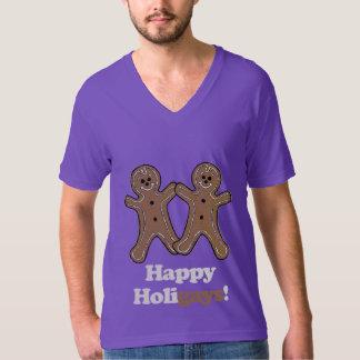 Happy Holigays Gingerbread T-Shirt