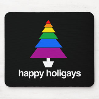 HAPPY HOLIGAYS MOUSE PAD