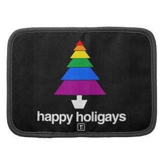 HAPPY HOLIGAYS TREE FOLIO PLANNER