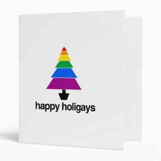 HAPPY HOLIGAYS TREE -.png Vinyl Binders