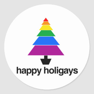 HAPPY HOLIGAYS TREE -.png Sticker