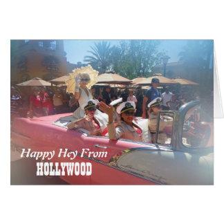 Happy Hollywood Greeting Card! Card