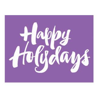 Happy Holy Days Holydays Christian Christmas Postcard