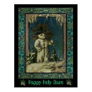 Happy Holy Daze Postcard
